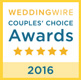 Weddingwire Couple Choice award